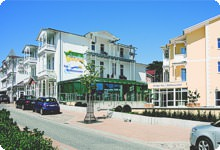 Hotel mit Kur,- Gesundheits,- und Wellnesscenter Ostseebad Göhren