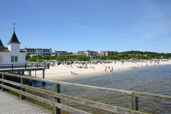 Strand und Hotels Ahlbeck / Usedom