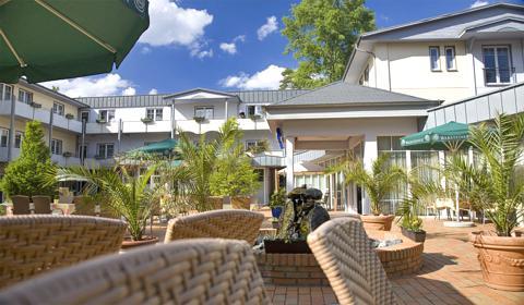 Hotel Villen Im Park Bansin Lage
