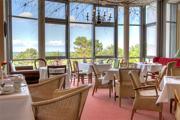 Cafe Hotel Asgard Zinnowitz mit Ostseeblick